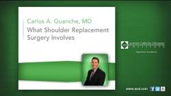 What Shoulder Replacement Surgery Involves