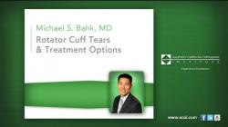 Rotator Cuff Tears and Treatment Options