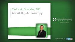 About Hip Arthroscopy