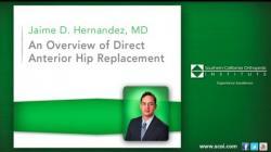 Anterior Hip Replacement