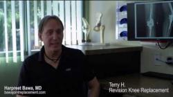 Patient Testimonial: TH, Revision Total Knee Replacement