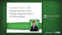 About Rotator Cuff Repair Augmentation & Advantages