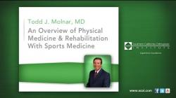 An Overview of Physical Medicine & Rehabilitation With Sports Medicine