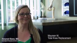 Patient Testimonial: MF, Robotic-Assisted Total Knee Replacement