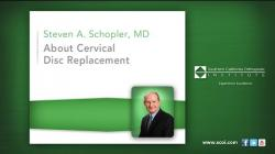 About Cervical Disc Replacement